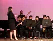 Click to watch the video of Gyeonggi Suwon International School (GSIS) Jazz band Performing to 'Sweet Home Chicago'