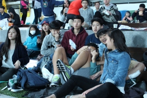 Freshman Change the Face of Class Activities and Bond at a BaseballGame